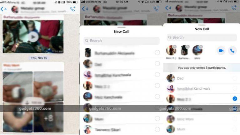 WhatsApp Grup Görüntülü Sohbet Özelliği Geliyor