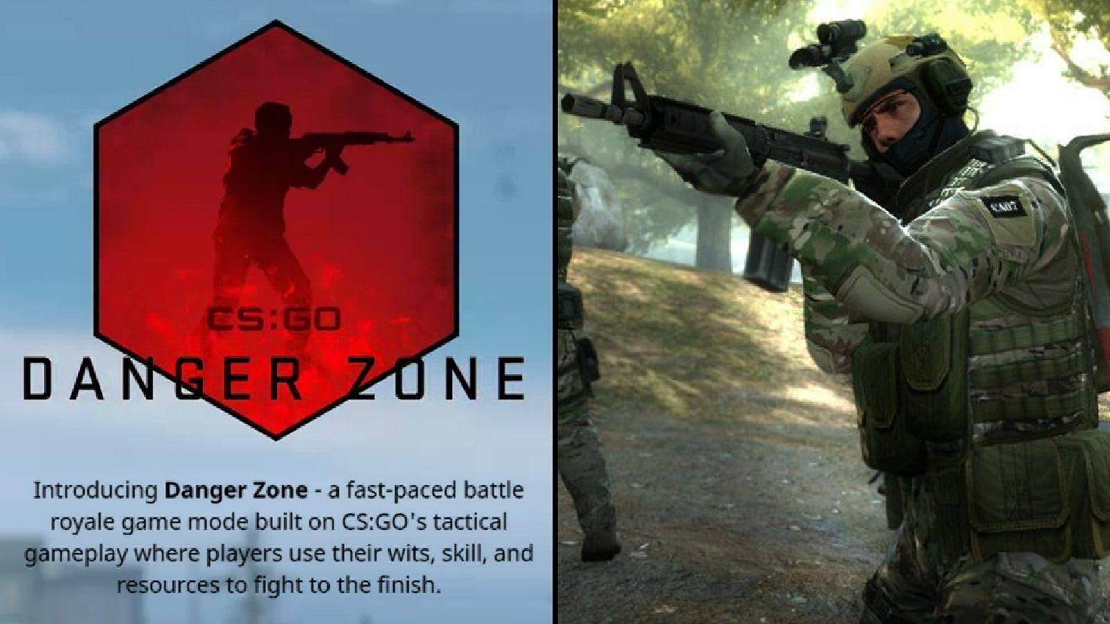 CS:GO Danger Zone Battle Royale Yayınlandı ve CS:GO Ücretsiz Oldu