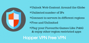 Hopper VPN Hotspot (Pro Mod) v1.19 APK