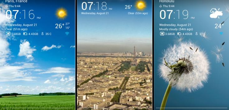 Transparent clock weather (Ad-free) v4.1.1.0 APK
