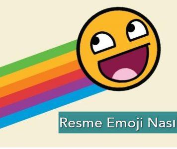 Fotoğrafa Emoji Nasıl Konulur?