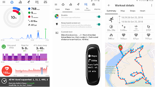 Notify & Fitness for Mi Band (Pro) v8.18.4 APK