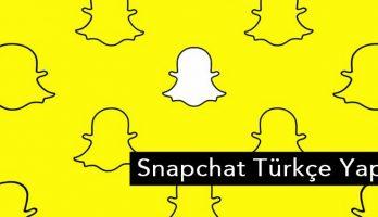 Snapchat Türkçe Nasıl Yapılır?