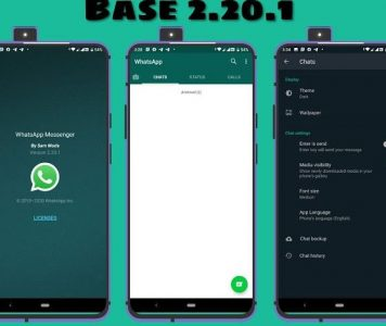WhatsApp Base 2.20.62 (Stabil Dark Mod) APK
