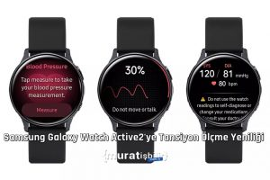 Samsung Galaxy Watch Active 2'ye Tansiyon Ölçme Yeniliği