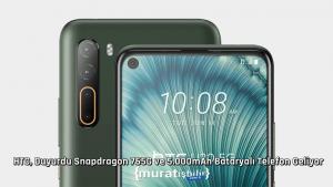 HTC, Duyurdu Snapdragon 765G ve 5.000mAh Bataryalı Telefon Geliyor
