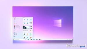 Windows 10X'in Olası Başlat Menüsü Paylaşıldı