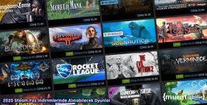 2020 Steam Yaz İndirimlerinde Alınabilecek Oyunlar
