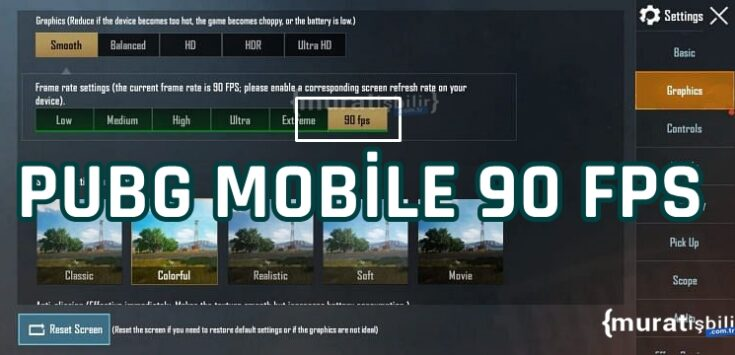 PUBG Mobile 90 FPS Desteği Sağlayacak!
