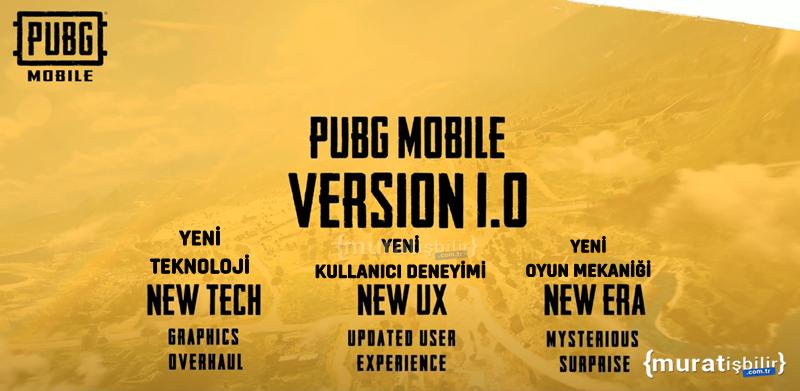 PUBG Mobile Yeni Çağ Güncellemesi!