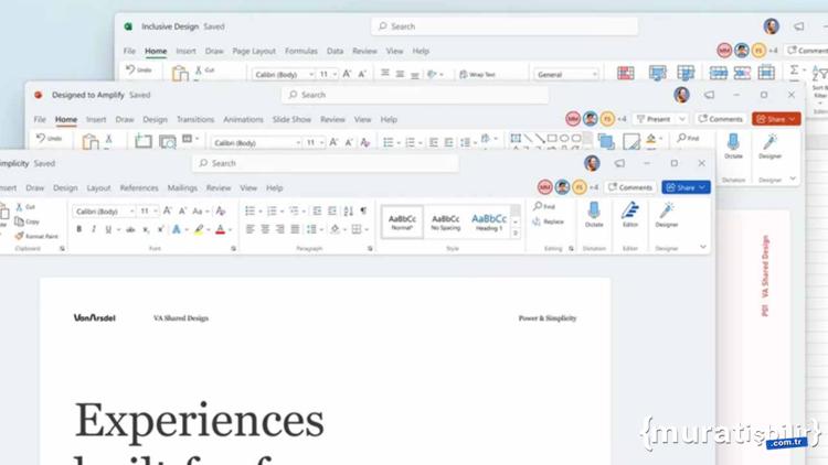 Windows 11 İçin Office Uygulamaları Değişiyor