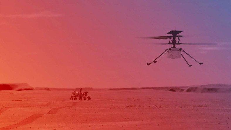 Ingenuity Helikopterine Teknik Destek Nasıl Sağlanıyor?