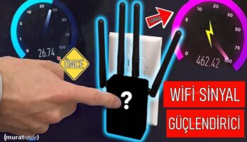 En İyi Wifi Sinyal Güçlendirici Yöntemi