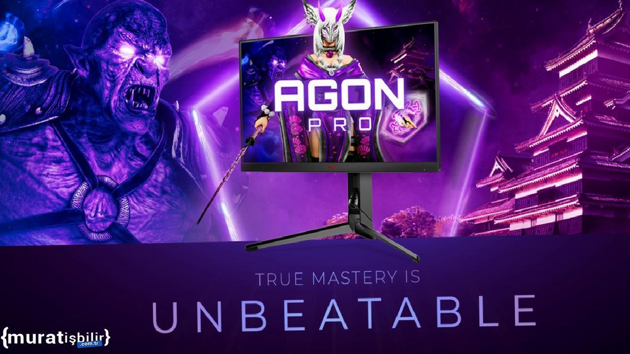 AOC AGON PRO AG254FG Oyun Monitörü Tanıtıldı