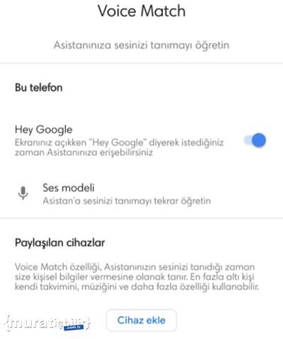 Google Asistan, Voice Match Nasıl Kullanılır?