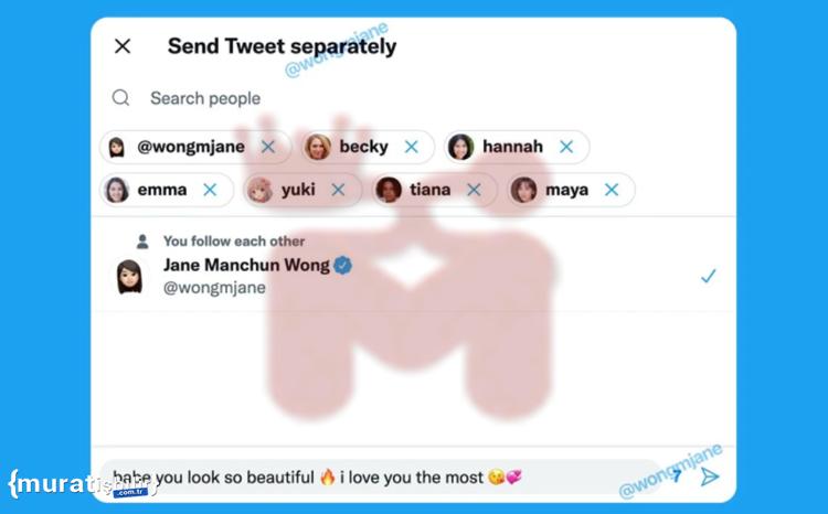 Artık Tweetler Birden Çok Kişiye Gönderilebilecek