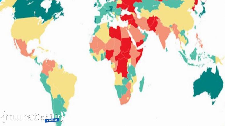 Dünyanın En Güvenli Ülkeleri Açıklandı