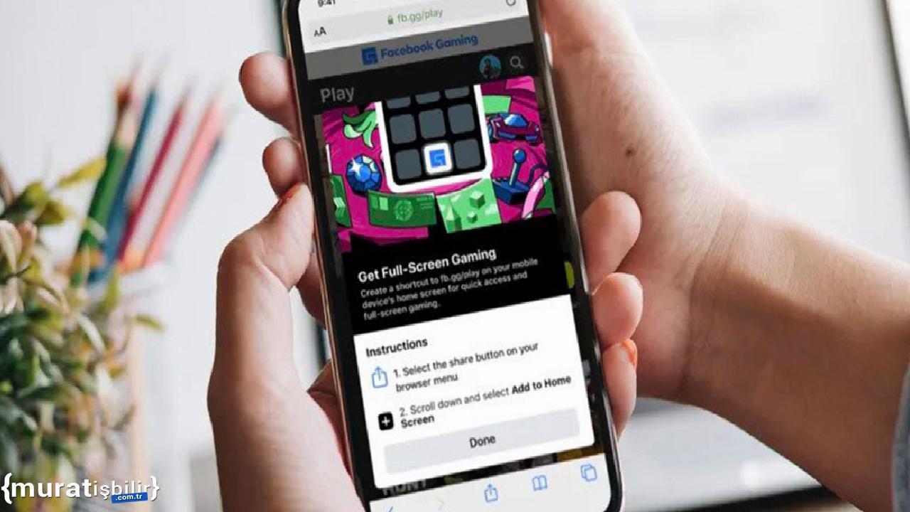 Facebook'un Bulut Oyun Hizmeti, Artık iOS'ta