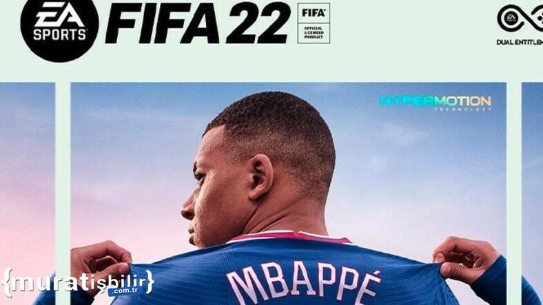 FIFA 22'nin Kapak Yıldızı Yine Mbappe Oldu