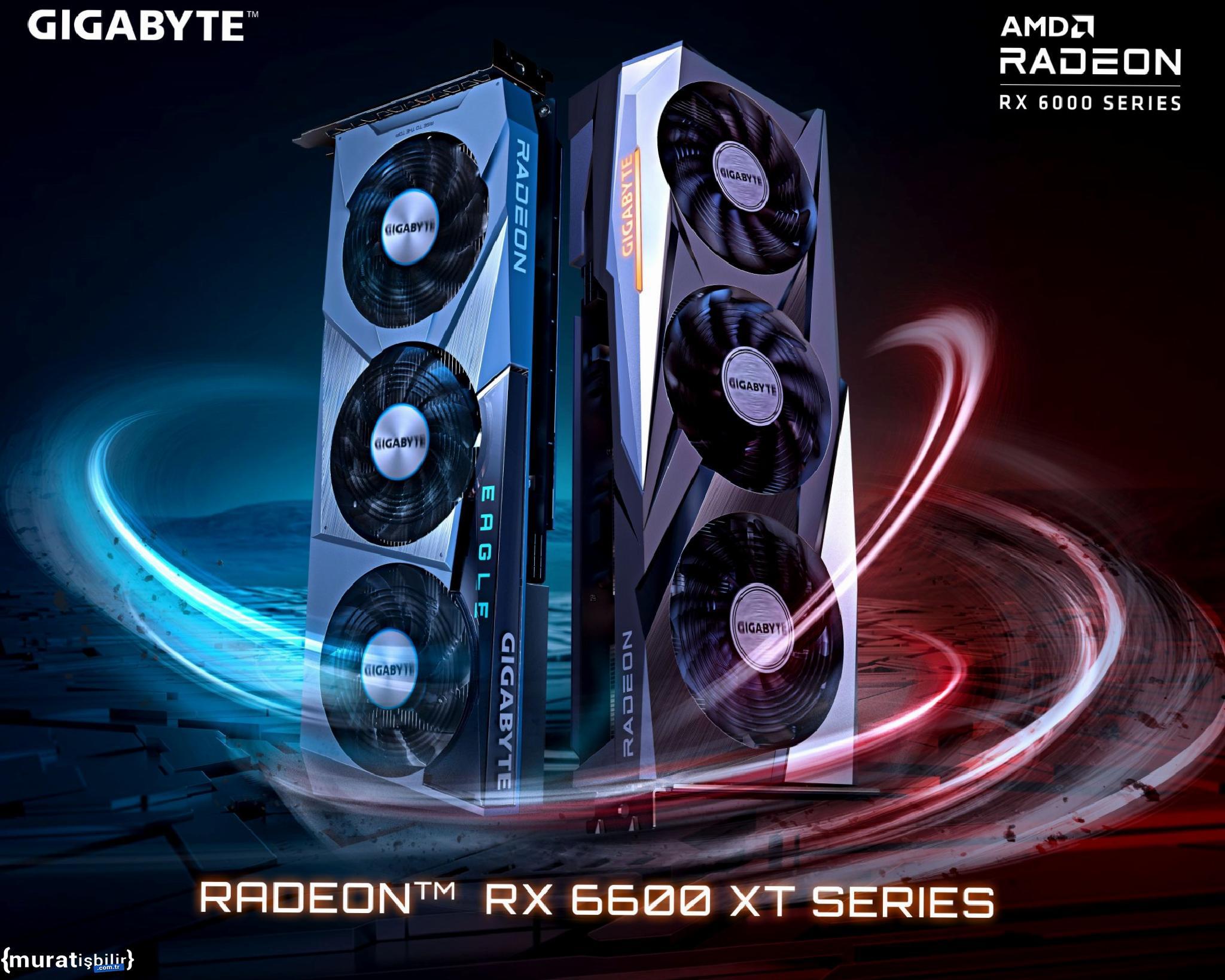 Gigabyte Yanlışlıkla RX 6600 XT Ekran Kartlarını Yayınladı