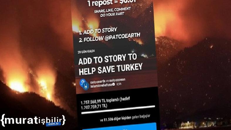 Instagram'daki Orman Yangını Kampanyaları Güvenilir Mi?