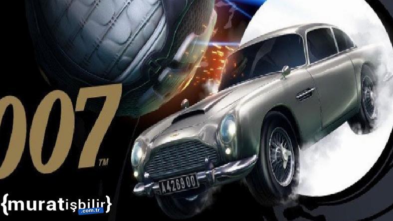 James Bond'un İkonik Otomobili, Rocket Leauge'e Geliyor