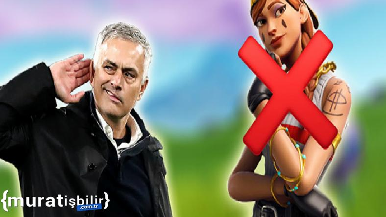 José Mourinho, Fortnite'ı Topa Tuttu