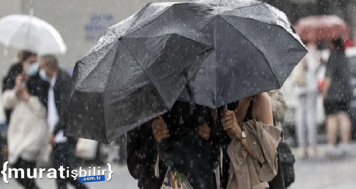 Karadenizve Doğu Anadolu'da Sağanak Yağış