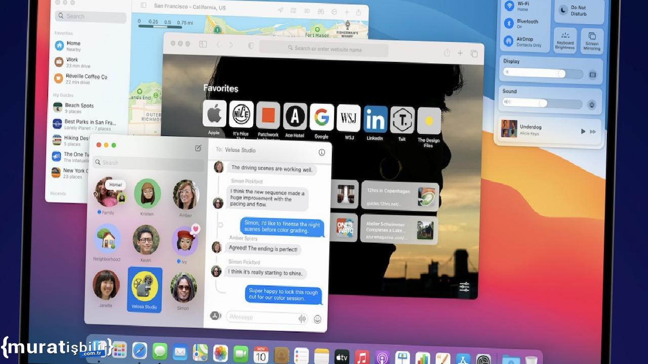macOS Big Sur 11.5 Güncellemesi Yayınlandı