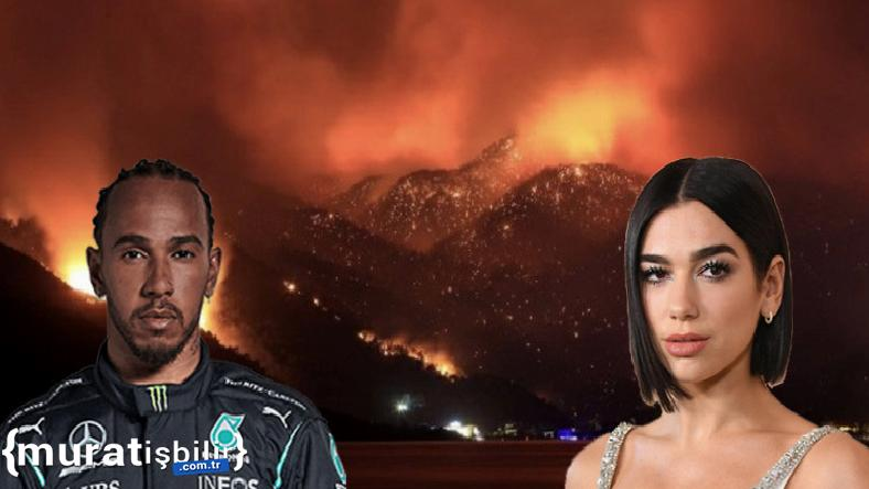 Ünlü İsimlerin Orman Yangınlarıyla İlgili Paylaşımları