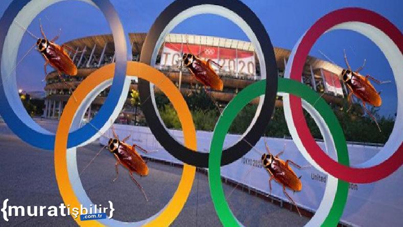 Olimpiyatlarda Ekrana Yansıyan Hamamböceği Viral Oldu