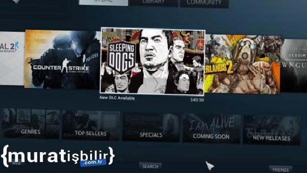Steam'in Geniş Ekran Modu Değişecek