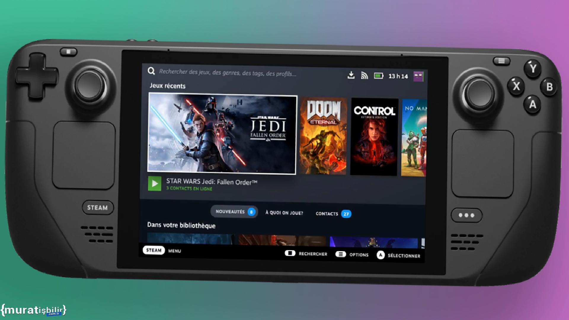 Valve: Steam Deck, Tüm Steam Oyunlarını Oynatabiliyor