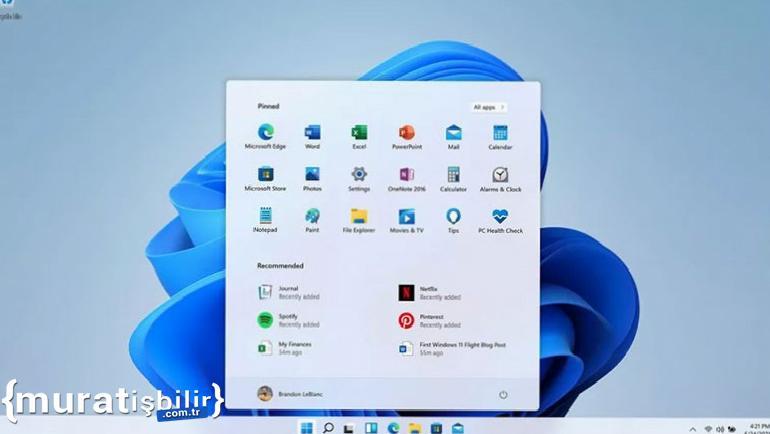Windows 11, Windows 10 Başlat Menüsünü Engelledi