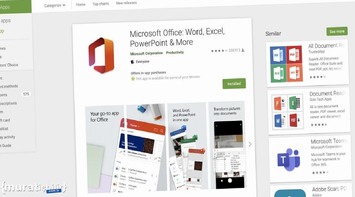 Microsoft, Office Android Uygulamaları İçin Chrome OS Desteğini Sonlandırıyor