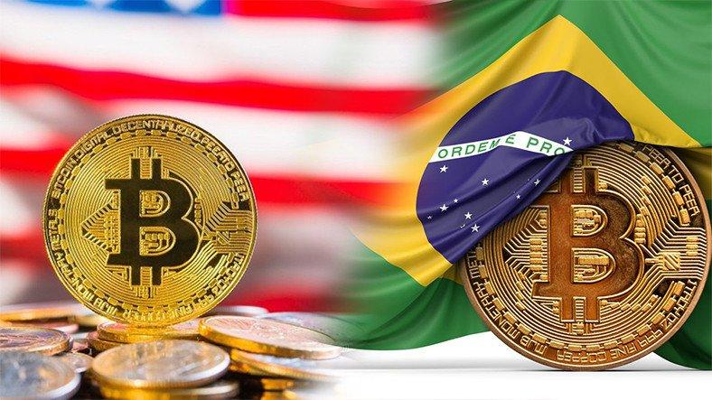 ABD ve Brezilya Halkı Bitcoin'in Resmîleştirilmesini İstiyor