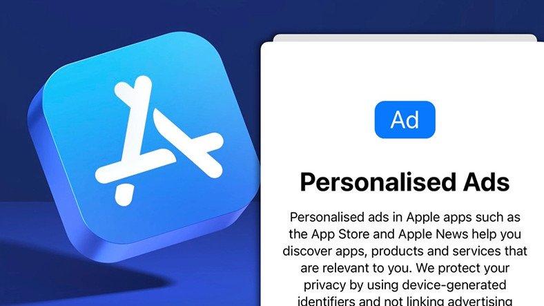 Apple, Kişiselleştirilmiş Reklamlar İçin Bir Pop-Up Yayınlad