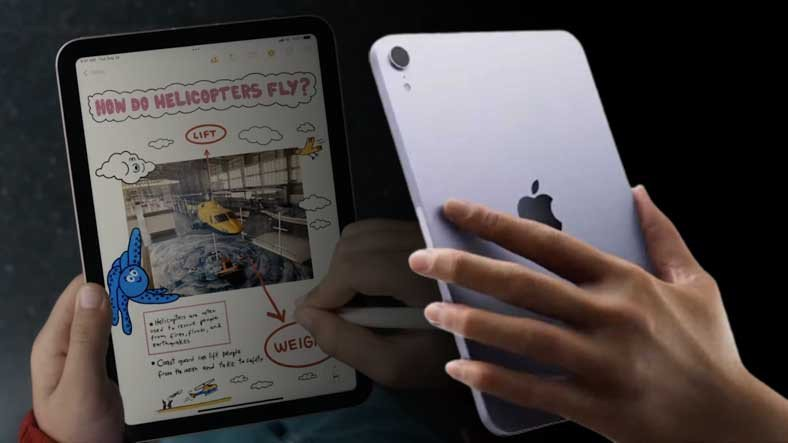 Apple, Yeni iPad Mini'yi Tanıttı