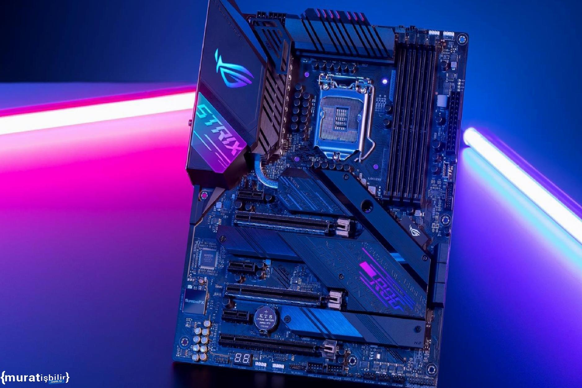 ASUS Z690 Anakartlar Göründü: DDR4 ve DDR5 Desteği Netleşiyor