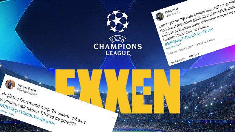 Avrupa Maçlarının Exxen'de Yayınlanmasına Gelen Tepkiler