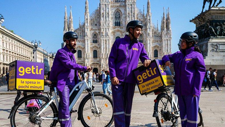 Getir, İtalya'nın Milano Şehrinde Faaliyete Başladı