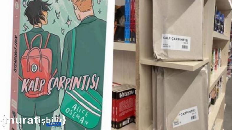 'Kalp Çarpıntısı' İsimli Kitap Kapalı Zarflarda Satılıyor
