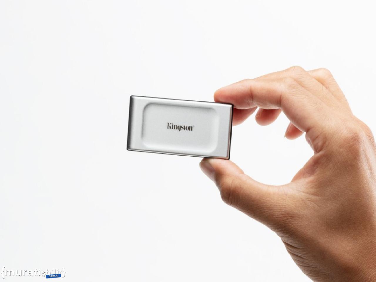 Kingston, Yeni XS2000 Taşınabilir SSD Diskini Tanıttı