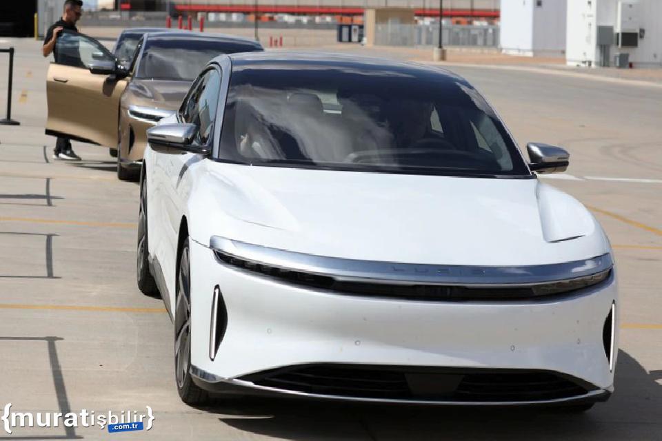 Lucid, Ekim Ayında Elektrikli Otomobillerinin Teslimatına Başlayacak