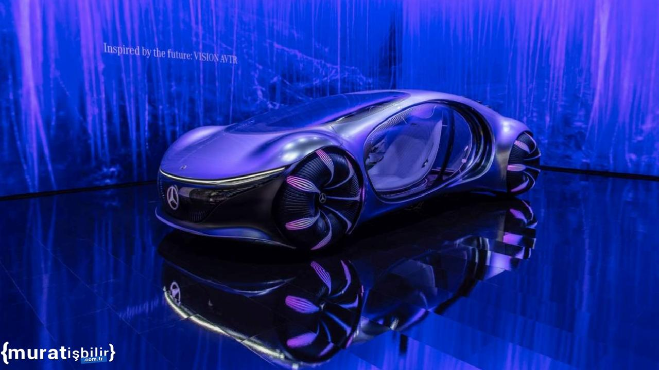 Mercedes-Benz VISION AVTR Sistemleri Düşünceyle Kontrol Edilebiliyor