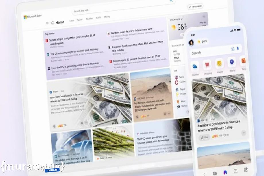 Microsoft, Kişiselleştirilmiş Haber Hizmetini Tanıttı: Microsoft Start