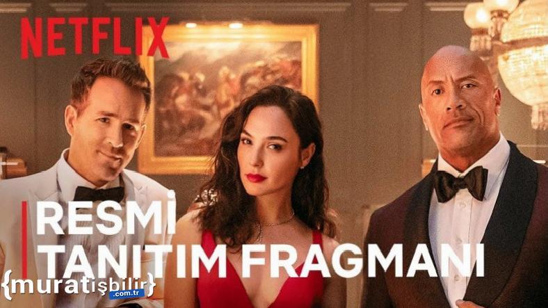 Netflix, Red Notice Filminin Fragmanını Yayınladı