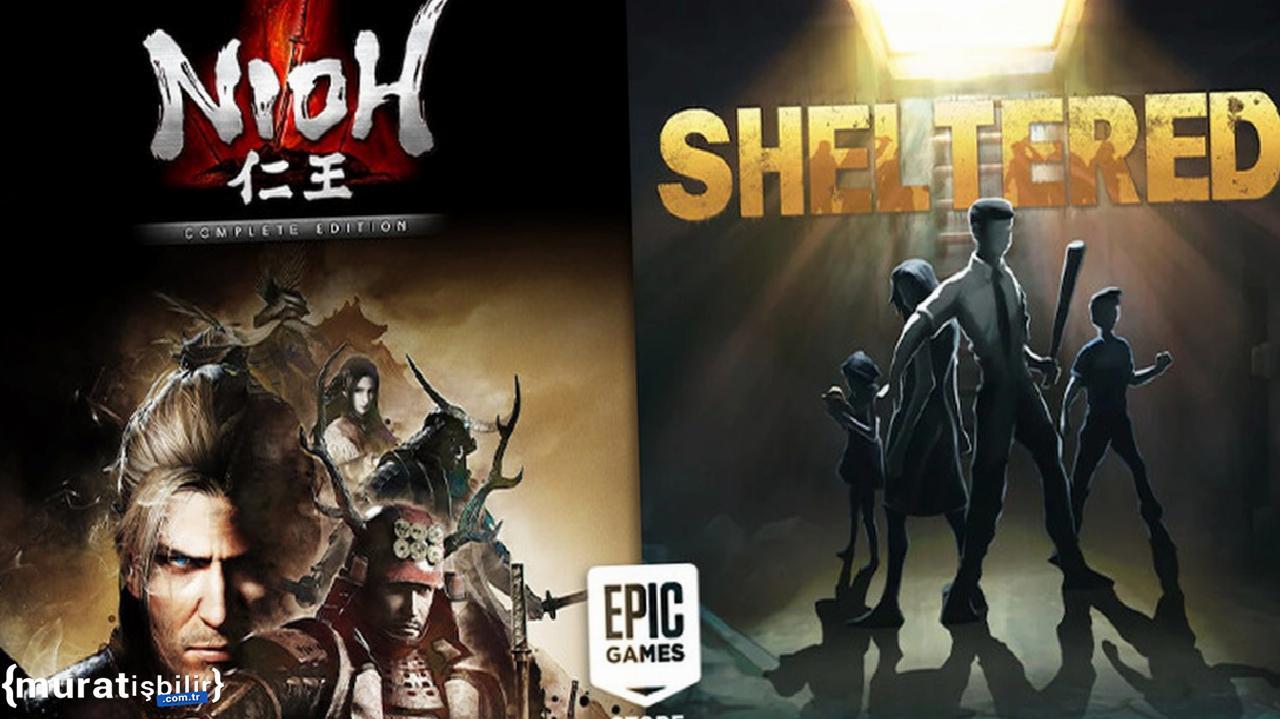 Nioh Complete Edition ve Sheltered Ücretsiz Oldu