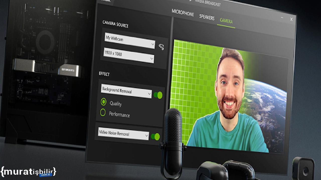 NVIDIA Broadcast 1.3, Performans İyileştirmeleriyle Geldi