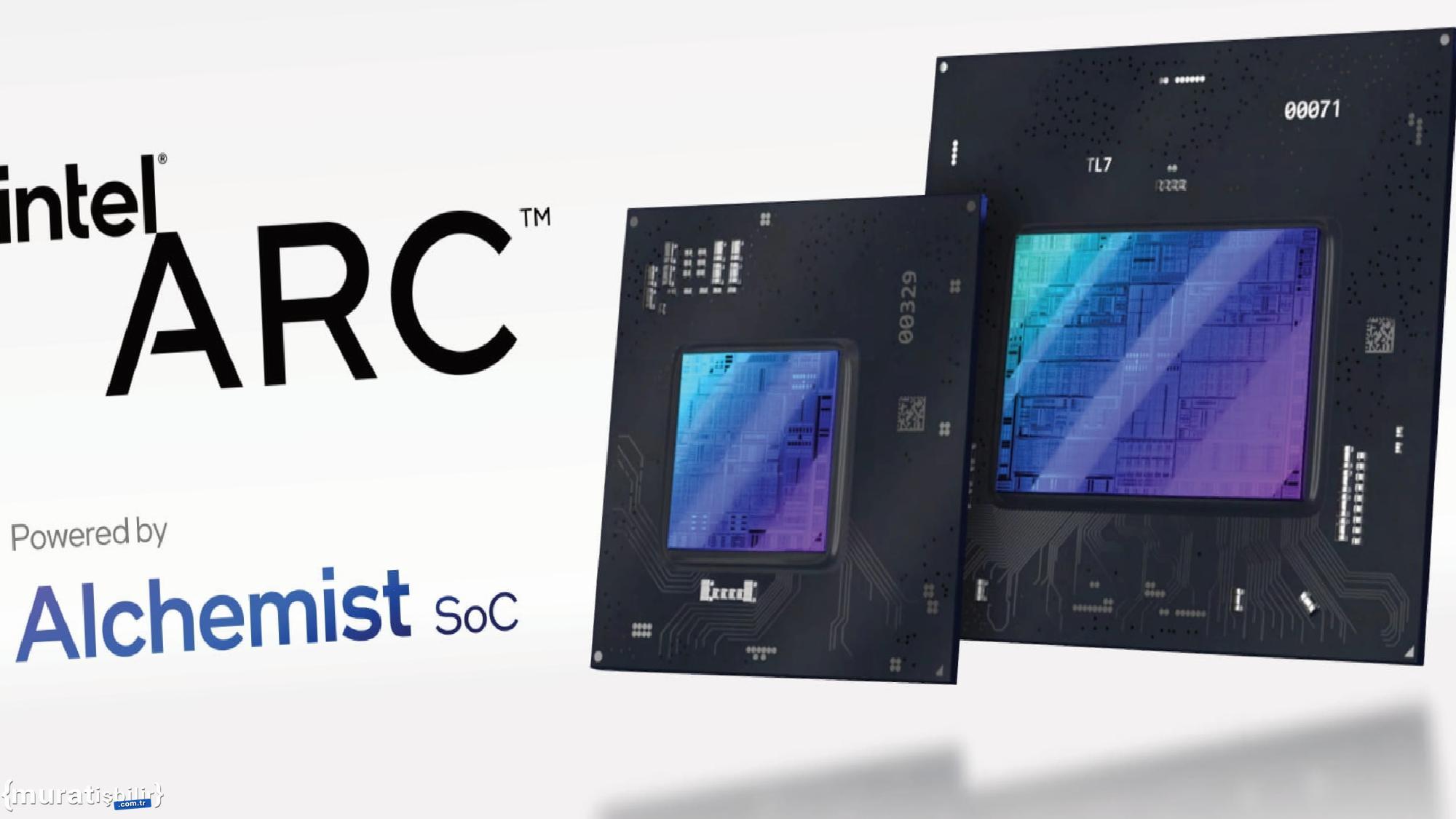 NVIDIA ve AMD Kartlara Rakip Intel ARC Alchemist Modelleri Sızdı
